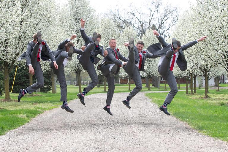 Groomsmen - Michigan Wedding - Bridal Party