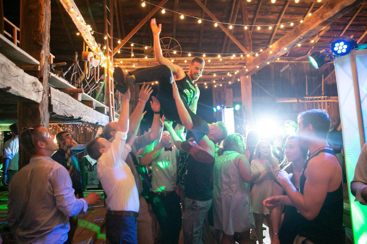 Wedding Reception - Party - Groom - Dancing